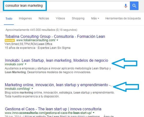 Consultor lean marketing vender servicios en internet innokabi