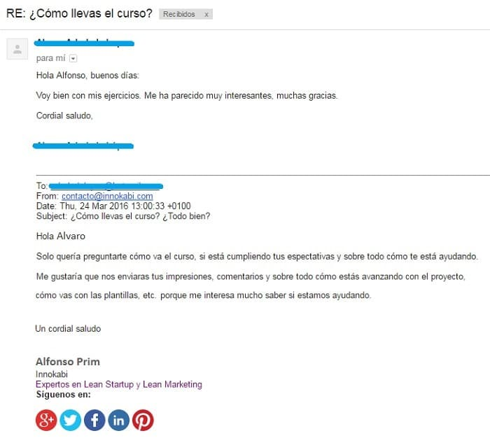 Crear embudo de ventas ejemplo mails