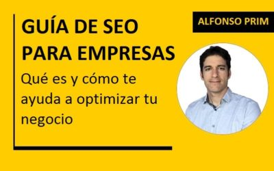 Guía de SEO para Empresas. Posiciona tu Web en Google como un Pro