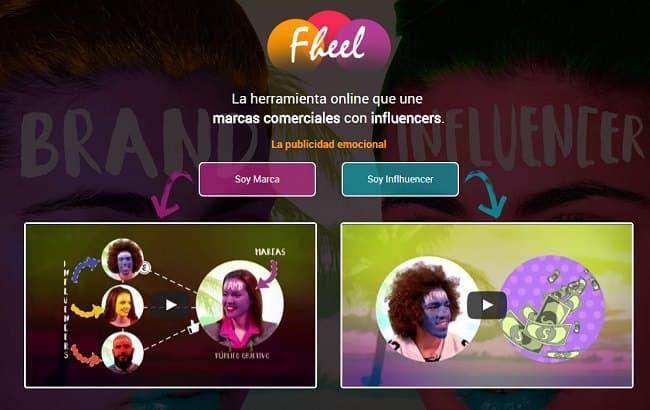 Influenciadores y marca online fheel