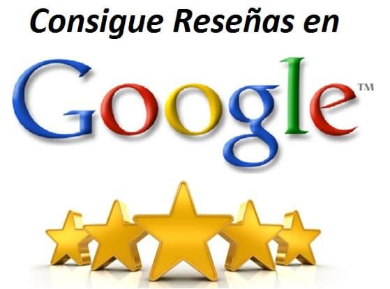 Consigue reseñas en Google my business
