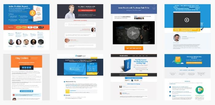 Landing pages en wordpress