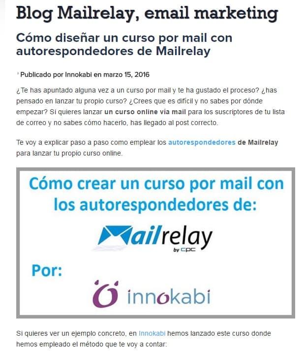 post de invitado mail relay alfonso prim
